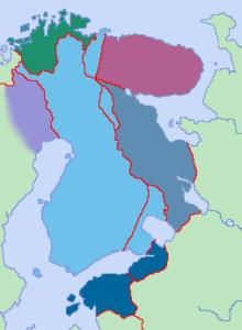 kuvitteellinen  Suur-Suomi II maailmansodan ajalta